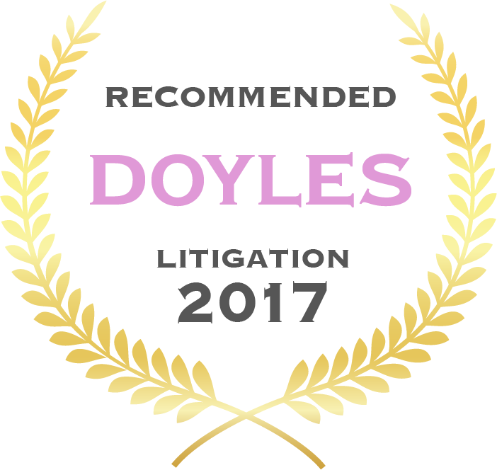 David Marsh - 2017 Doyles Recommended Leading Commercial Litigation & Dispute Resolution Lawyer