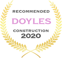 Doyles - Recommended Construction 2020 badge